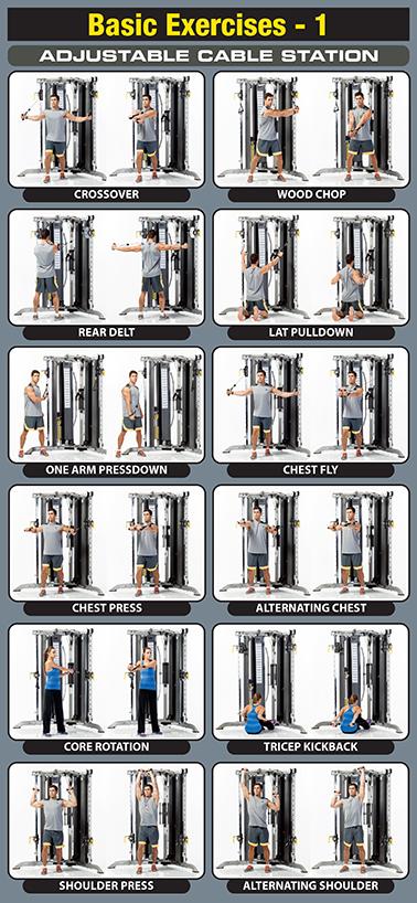 Tuffstuff Cxt 200 Functional Trainer Fitness Equipment