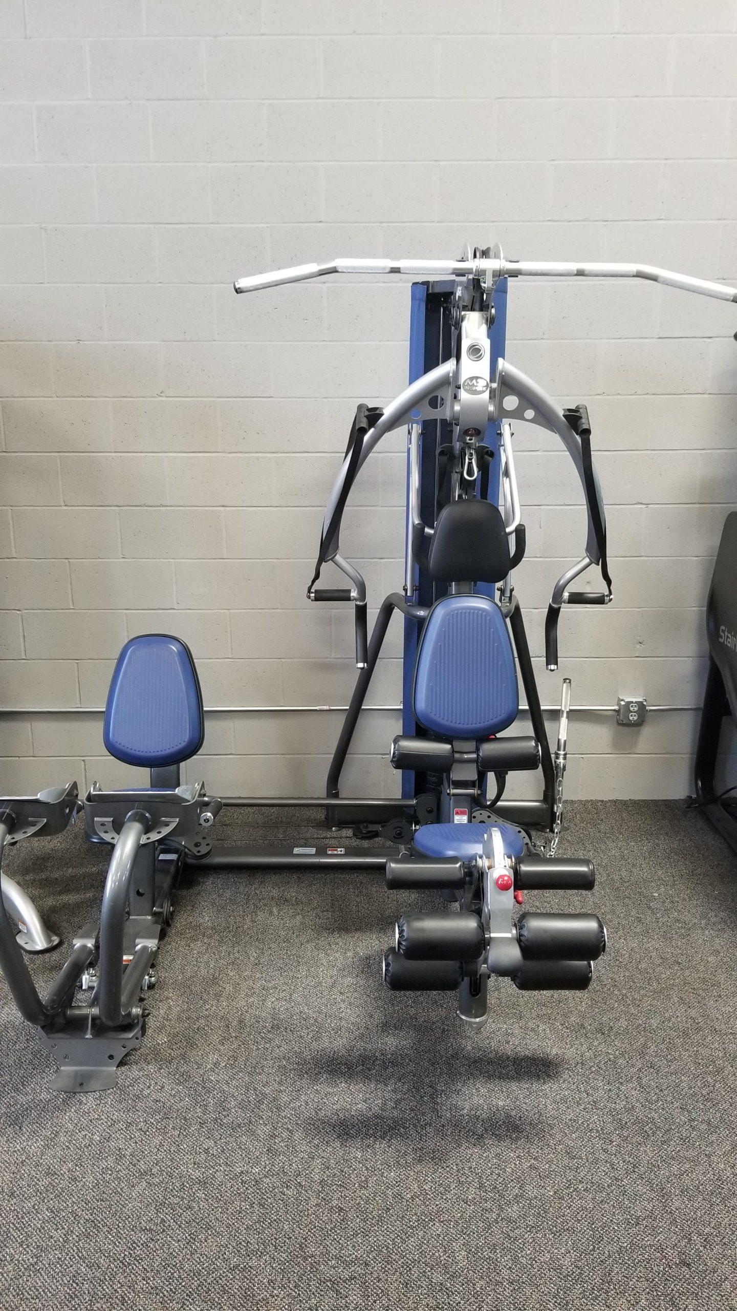 Inspire m home gym w leg press u fitness equipment in omaha